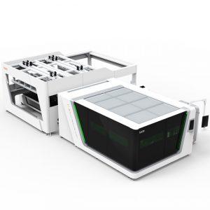 bodor Faserlaserschneidanlage Serie P mit IPG Laserquelle 500Watt - 3000Watt